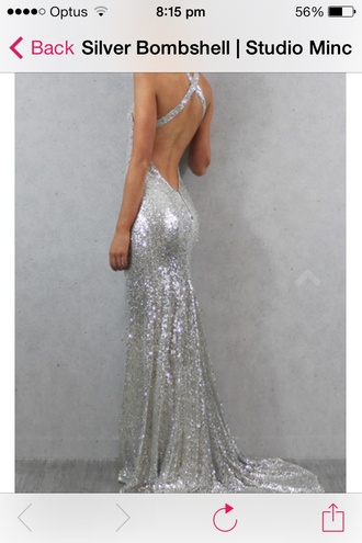 dress sequins sparkly silver prom dress sequindress longdress promdress silver long dress sequins sequindress