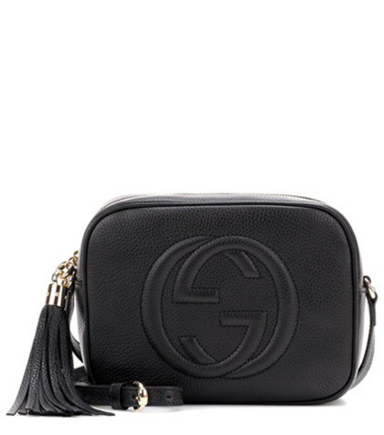 bag crossbody bag leather black
