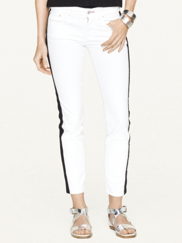 Stretch-Cotton 400 Ankle Jean - Skinny   Pants & Denim - RalphLauren.com