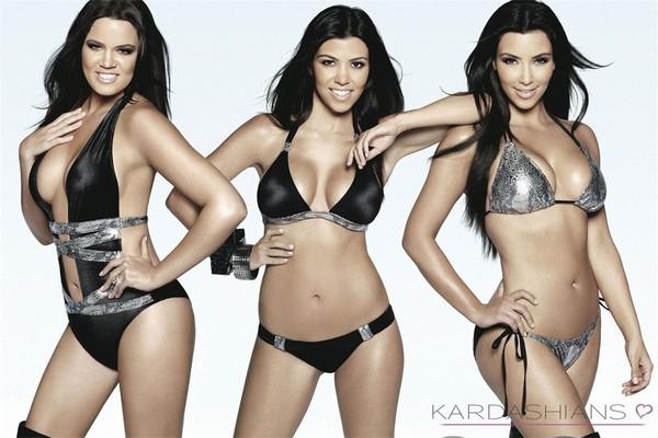 swimwear kardashians