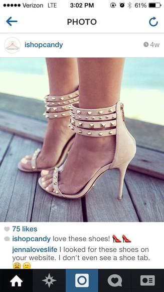 shoes studded shoes studded heels heels on gasoline
