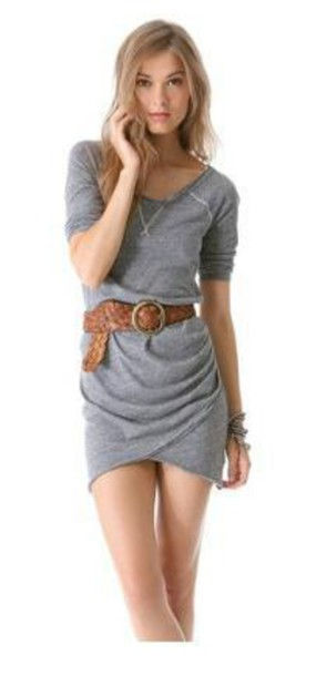 dress free people grey