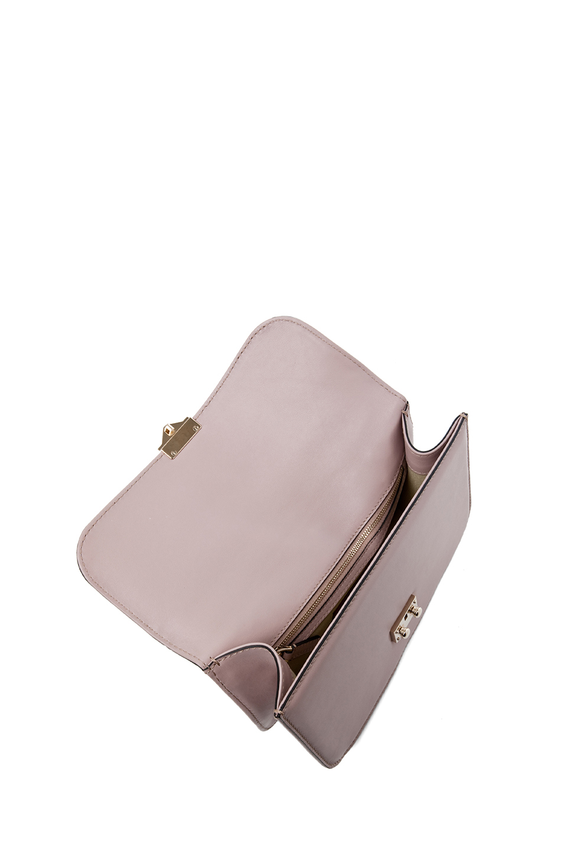 Valentino | Medium Lock Flap Bag in Poudre