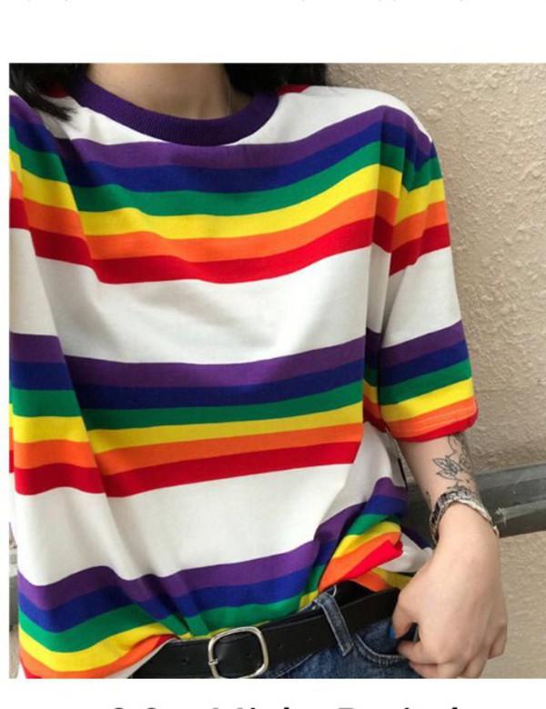 blouse girly girl girly wishlist tumblr stripes striped top