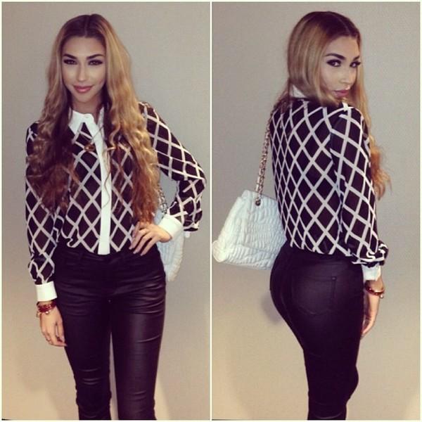 blouse clothes pants
