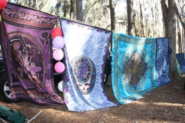 Jewels Blue Sheets Pretty Hippie Camping Beautiful Decorating Bedroom Purple Hippie