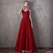 dress,evening dress,girl,red dress,lace dress,bow sash evening dresses,formal dress,spaghetti straps dress,a line dress