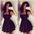 2014 Sweety nuova moda signore vestito senza maniche a linea mini abito abito nero sexy in da su Aliexpress.com