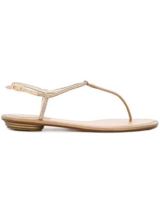 embellished sandals flat sandals nude shoes