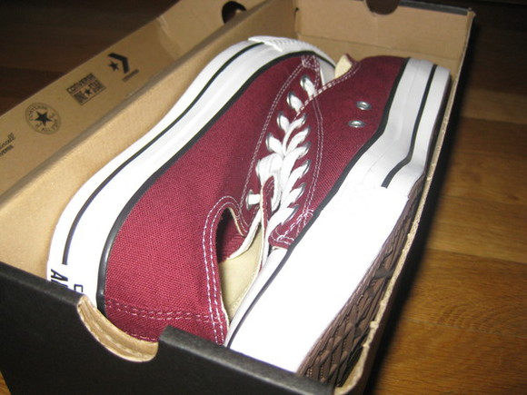 shoes converse summer maroon new shoes