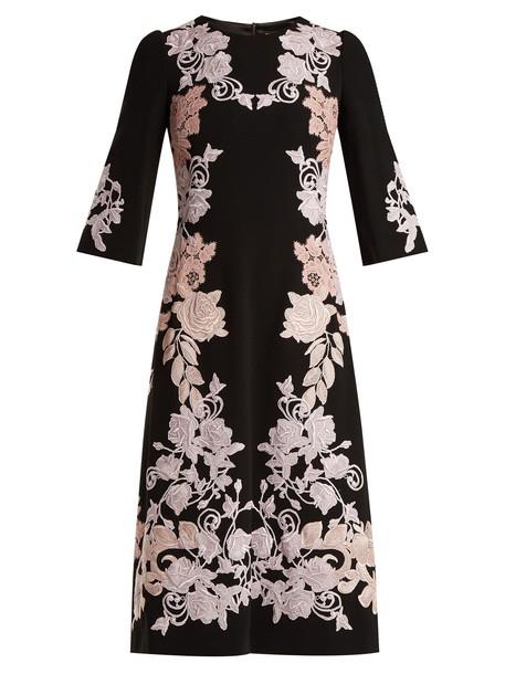 Dolce & Gabbana dress lace black