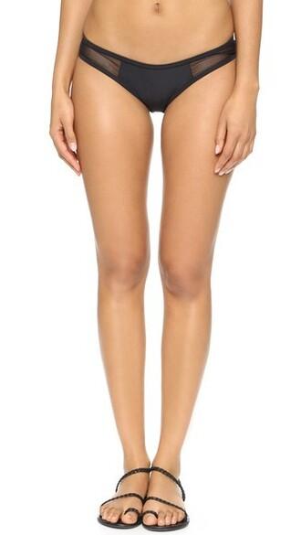 bikini bikini bottoms black swimwear
