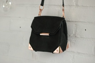 bag black bag lether bag