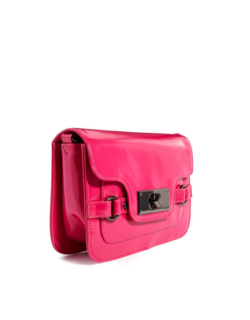 ASOS Domed Lock Cross Body Bag at asos.com