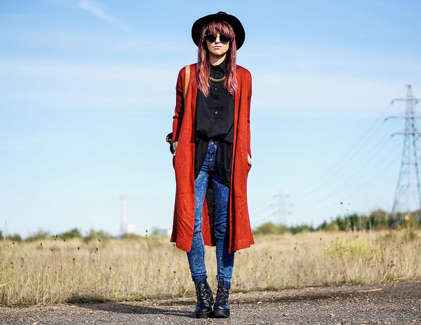 laughin in the purple rain blogger cardigan sunglasses blouse jeans