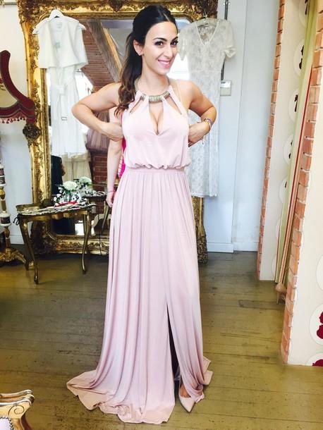 dba78c4d2f dress nude maxi maxi dress wedding dress