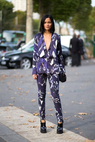 pants fall outfits fashion week 2014 streetstyle