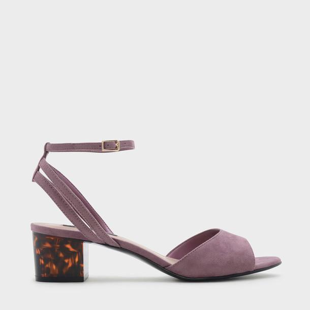 ankle strap sandals purple shoes