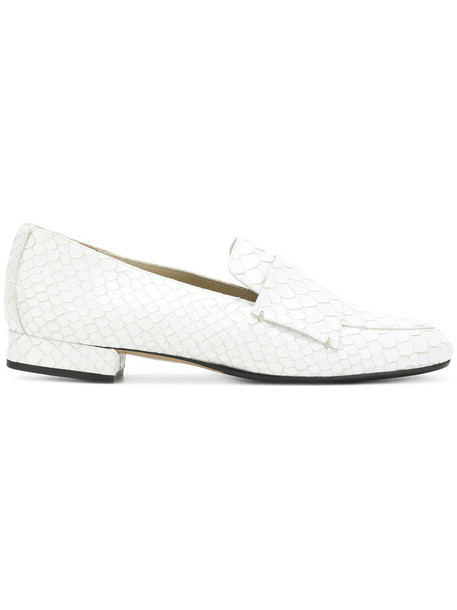ATP Atelier women loafers leather white shoes