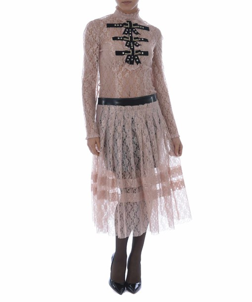 Philosophy di Lorenzo Serafini skirt lace skirt sheer lace