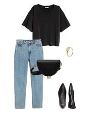 jestem kasia,blogger,jeans,top,bag,jewels