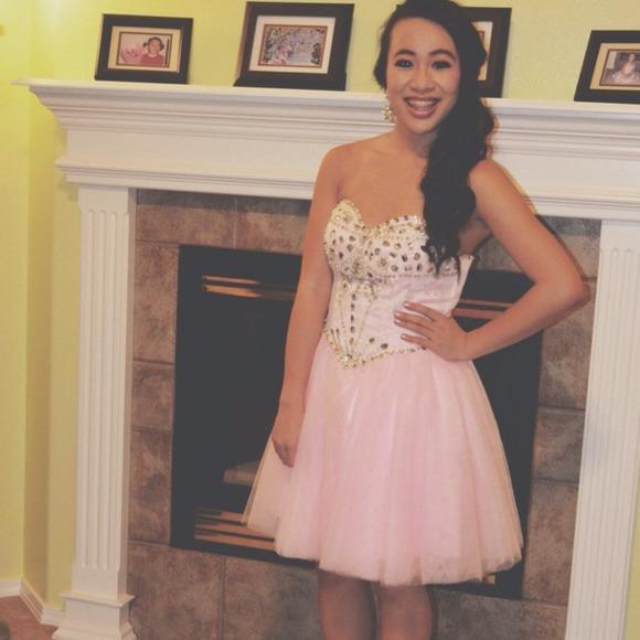 Sherri hill inspired homecoming dress from ! geneve's closet on poshmark