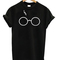 Lightning glasses harry potter unisex tshirt - stylecotton