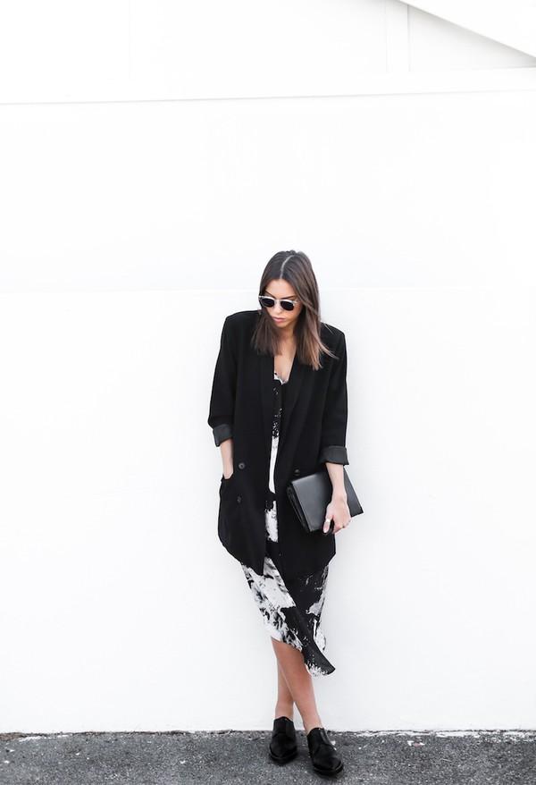 modern legacy jacket tank top dress shoes bag sunglasses