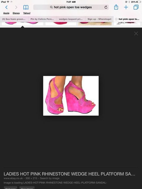 shoes hot pink shoes where could i find these.?