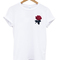 Pocket rose t-shirt