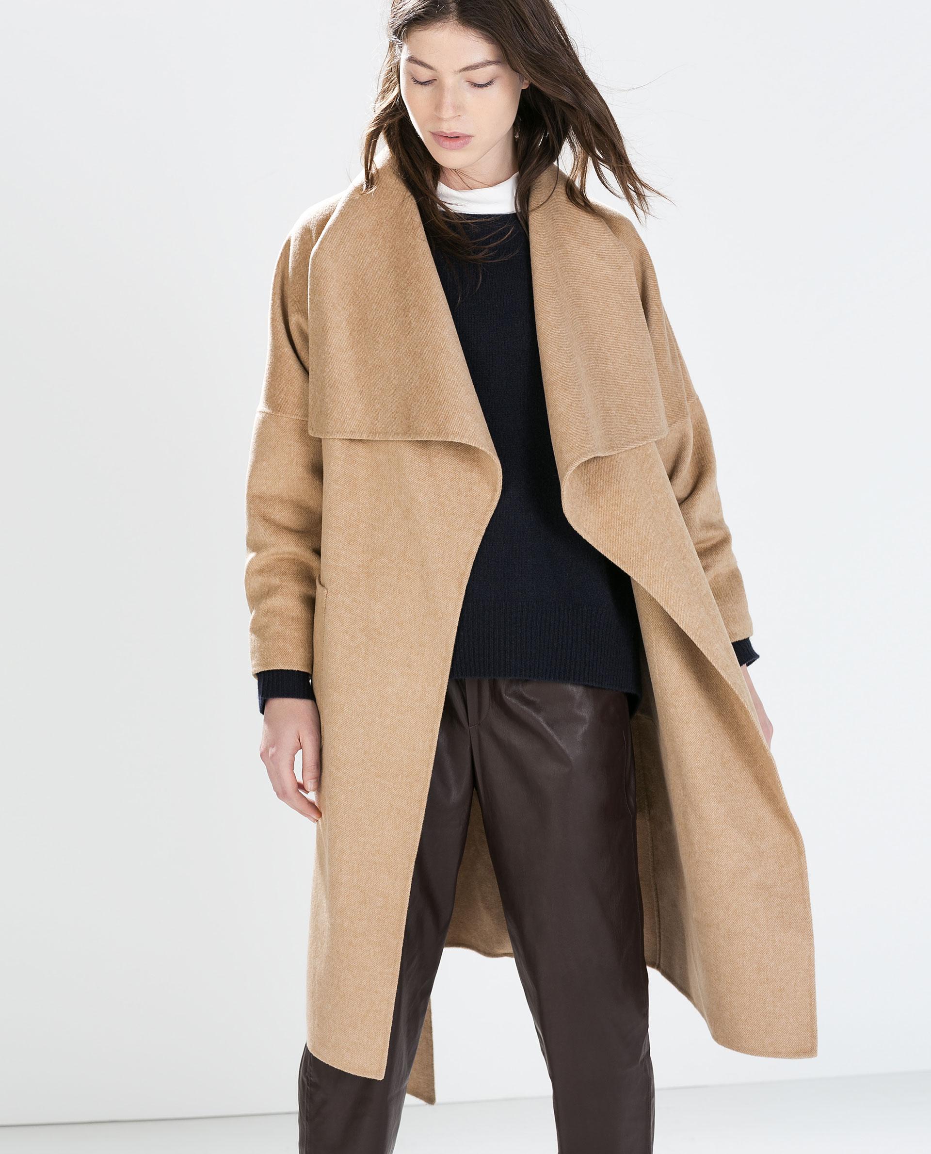 lang frakke til damer