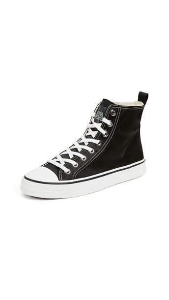Marc Jacobs Grunge High Top Sneakers in black