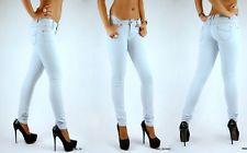 Neu Damen Hose Röhren Jeans Hellblau Straight Leg Sexy Jeans L 40 42 | eBay