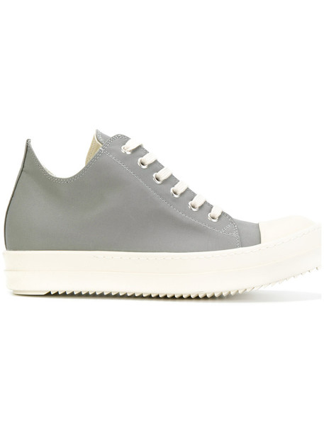 Rick Owens DRKSHDW women sneakers leather cotton grey shoes