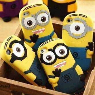 phone cover minion case cute phone cases smile