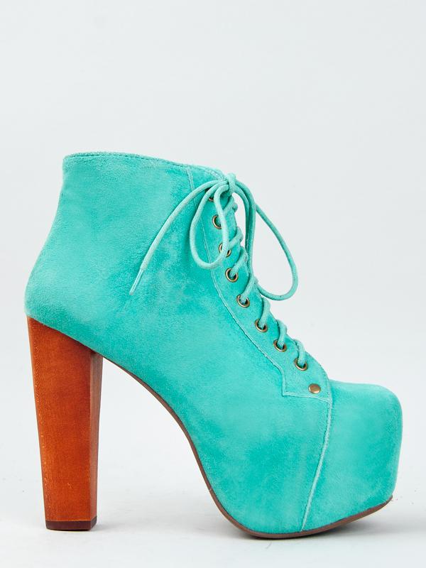 Jeffrey Campbell Lita Turquoise Platform Heel Aqua Mint Women Sz ... 628efc05b