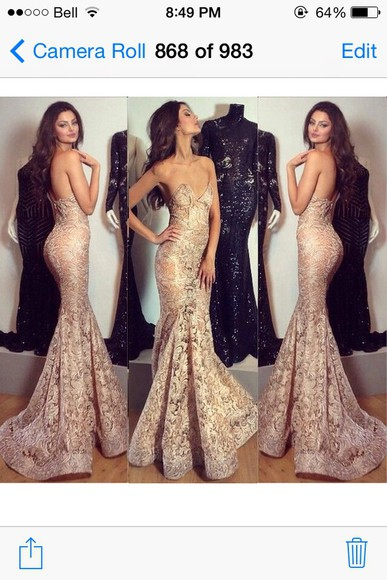 flowy long evening gown grad