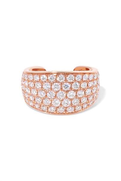 Anita Ko cuff rose gold rose ear cuff gold jewels