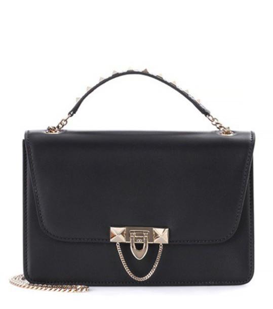 Valentino bag crossbody bag leather black