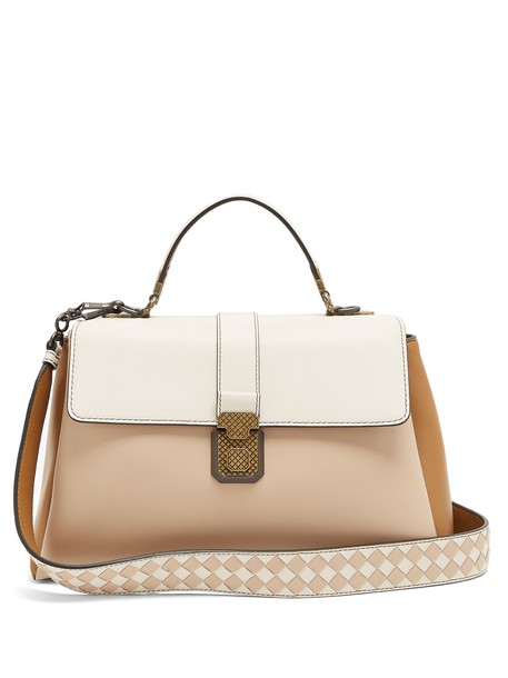 Bottega Veneta bag shoulder bag leather white