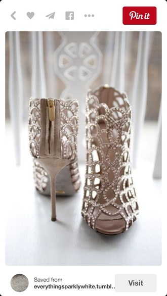 shoes prom heels style fancy copper bronze gold high heels gold sequins