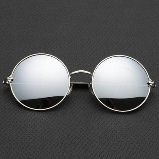 Are Black Frame Glasses Cool : Home accessory: instagram, tumblr, cool, sunglasses, round ...