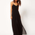 Black Chiffon Vacation Long Dress : KissChic.com
