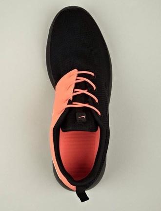 shoes black pink nike nike running shoes