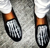 shoes,skeleton,feet,velvet,loafers,halloween,smoking slippers