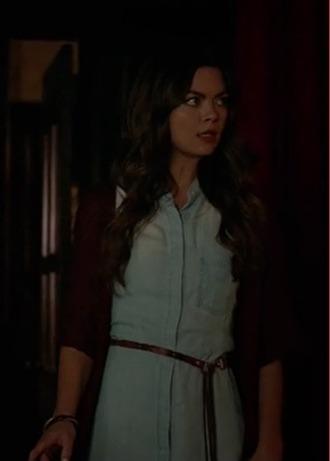 dress nora scarlett byrne the vampire diaries shirt dress