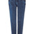 ROMWE | Zippered Slim Elastic Blue Pants, The Latest Street Fashion
