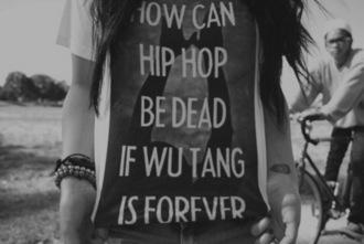 shirt wu-tang clan black hip hop dead