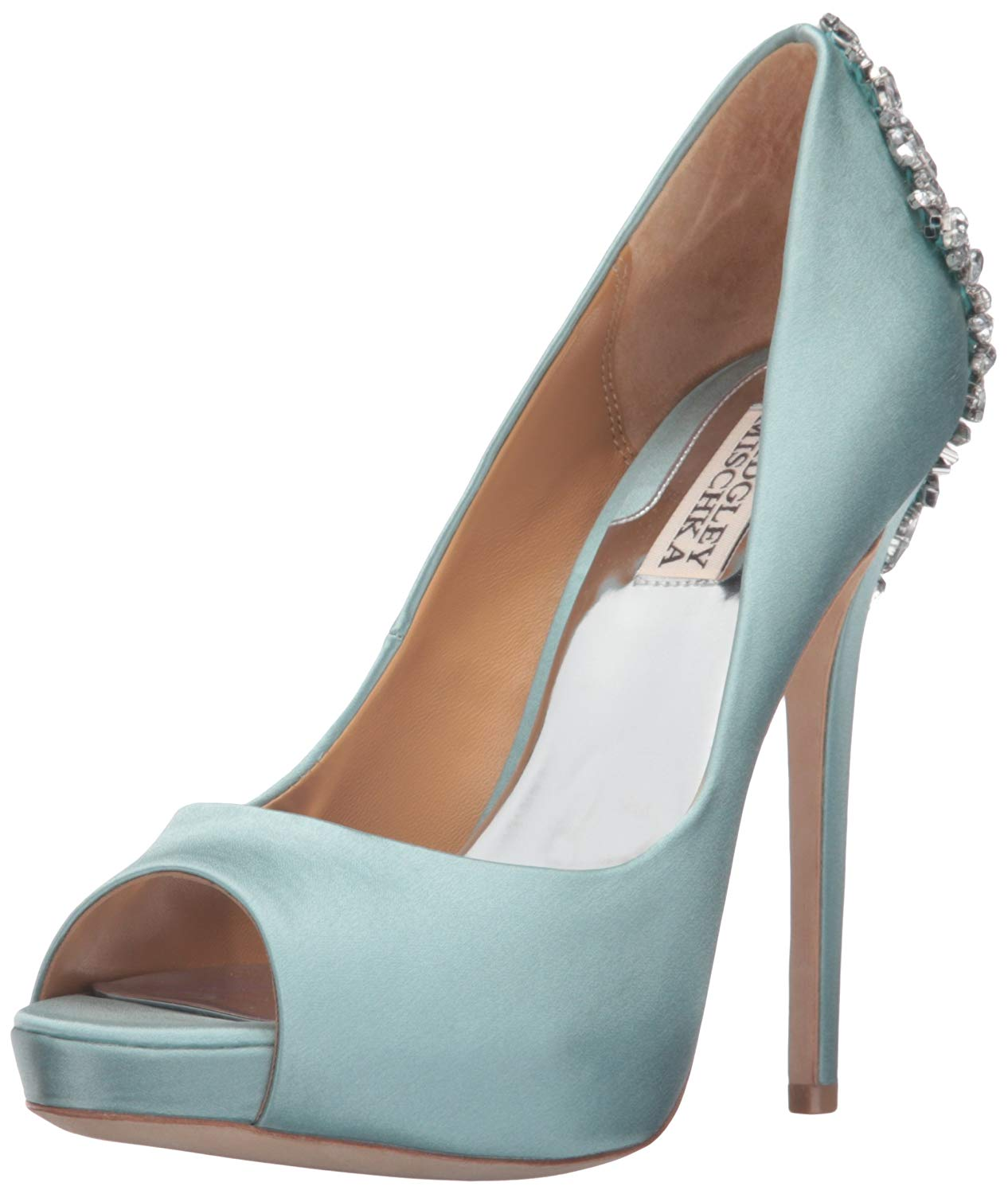 bf74c3d7d98b7 Amazon.com: Badgley Mischka Women's Kiara Platform Pump: Badgley Mischka:  Shoes