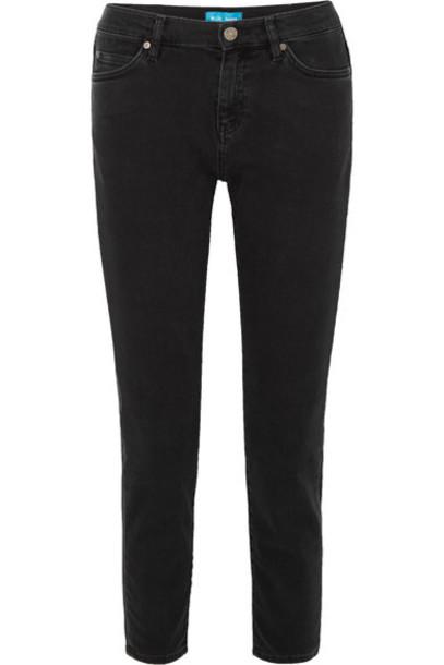 M.i.h Jeans jeans boyfriend jeans cropped boyfriend tomboy charcoal